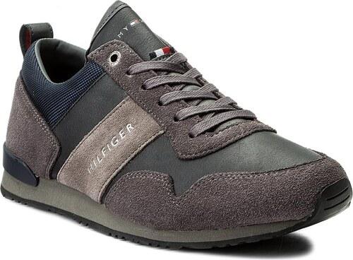 bf32598f6 Sneakersy TOMMY HILFIGER - Maxwell 11C5 FM0FM01123 Magnet/Midnight 907