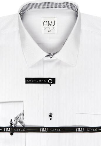 ebcd90b5012b Pánská košile AMJ Style Slim - Glami.cz