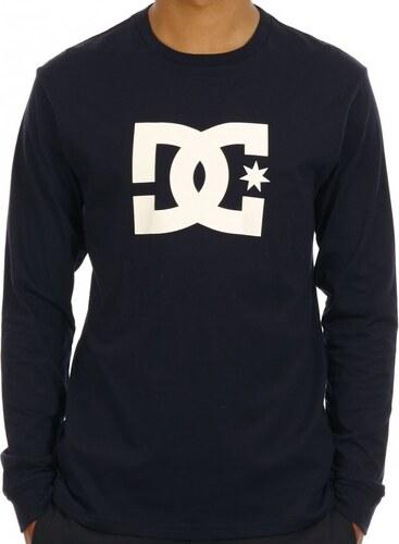 Pánske tričko s dlhým rukávom DC Star LS tmavomodré - Glami.sk 82e0385949