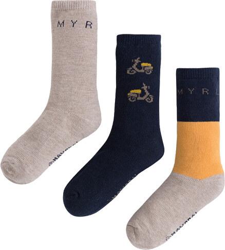 Mayoral MAYORAL chlapecké ponožky 3-pack Skůtr - Glami.cz 0cca8ff2c4