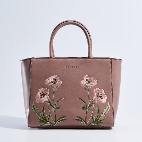 b095eaec85 Mohito - Kis city bag hímzett táska - Rózsaszín - Glami.hu