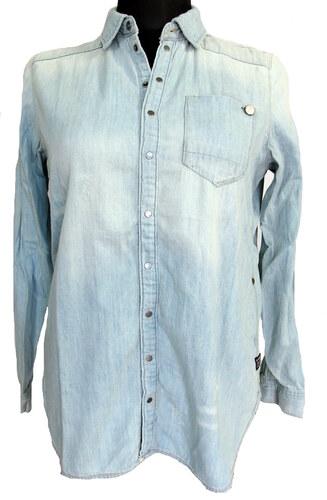 Dámská košile riflová g-star světle modrá - Glami.cz 1a5535616e