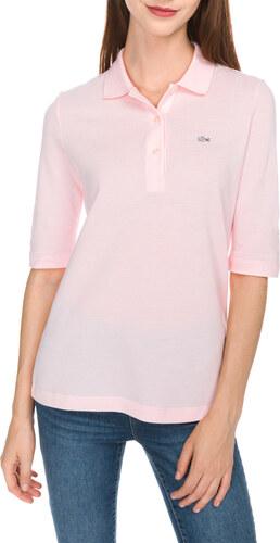 Női Lacoste Teniszpóló Rózsaszín - Glami.hu 4aa50ac2f7
