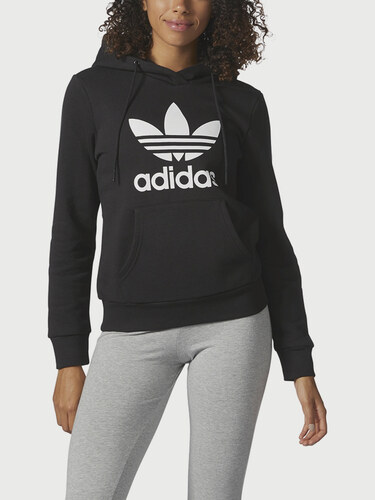 Mikina adidas Originals TRF LOGO HOODIE - Glami.cz 4ab1a91c56