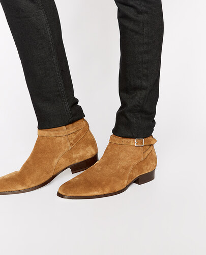 The Kooples Boots Daim Chelsea En Camel y7v6gYfb