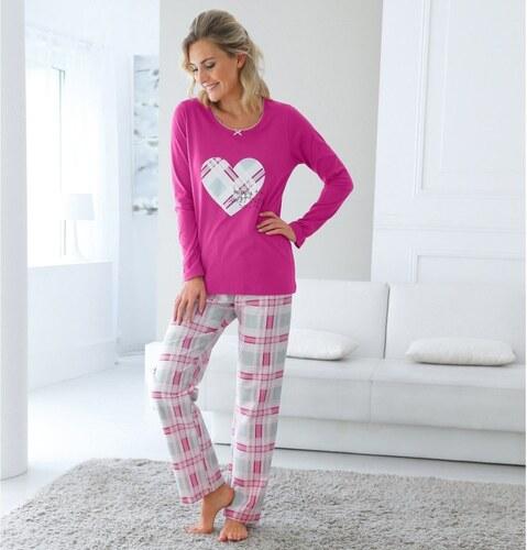 cb7f102486b0 Blancheporte Dámske pyžamo s potlačou srdiečok