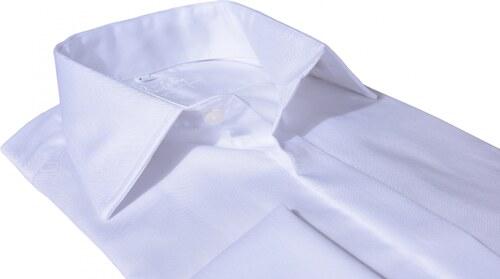 bd6355cb831d Alain Delon Biela spoločenská Extra Slim fit košeľa - Glami.cz