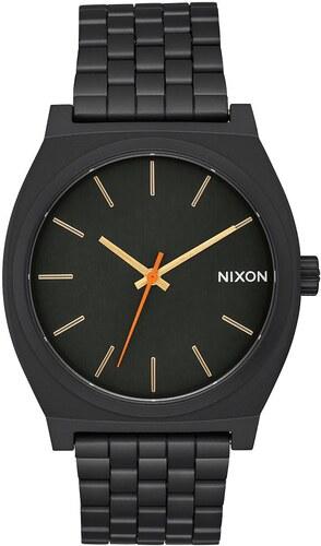 Nixon Time Teller čierne   zlaté - Glami.sk 00b3c40228
