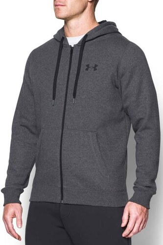 dca90e7cf71 Mikina s kapucí Under Armour Rival Fitted Full Zip 1302290-090 ...