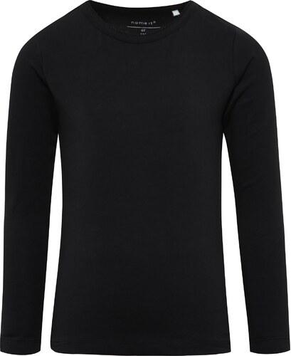28ec436e2f09 Čierne dievčenské tričko s dlhým rukávom name it Viola - Glami.sk