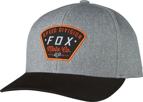 Pánská čepice Fox Racing Seek And Construct 110 Sb Heather grey - OS ... 785d297f99