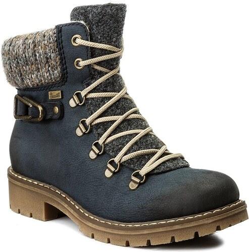 2467883b5f1c Outdoorová obuv RIEKER - Y9131-14 Blue Combination - Glami.sk