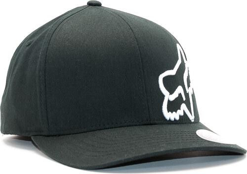 Kšiltovka FOX Flex 45 Flexfit Hat Black White - Glami.cz 4de497a869