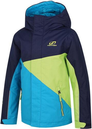 HANNAH Wally JR Dětská lyžařská bunda 215HH0034HJ04 Peacoat lime green 1b1c1cd905