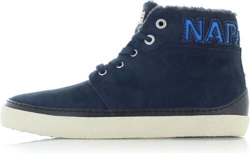 Pánske tmavomodré členkové topánky Napapijri 15843110 - Glami.sk 5c6cc6f8155