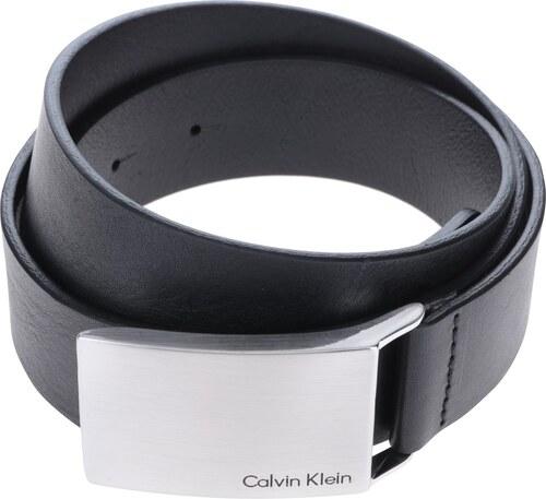 6b5f1c2c0649 Čierny pánsky kožený opasok Calvin Klein Jeans Mino - Glami.sk