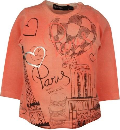 911b13feba08 Dirkje Dievčenské tričko s balónom - oranžové - Glami.sk