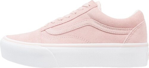 vans old skool platform rose