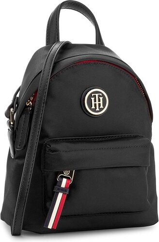 Táska TOMMY HILFIGER - Poppy Mini Backpack Crossover AW0AW04333 002 ... 7c27157654