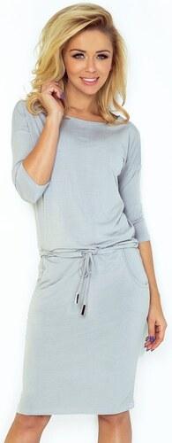 Dámské šaty 13-52 - numoco - Café latte M - Glami.cz f902903ad6