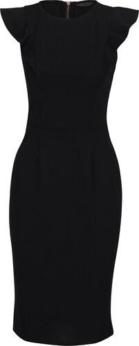 Černé pouzdrové šaty se zipem na zádech Dorothy Perkins - Glami.cz f24dc40efa
