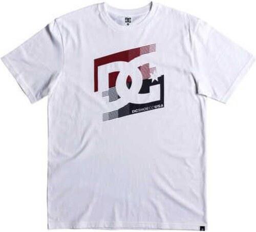 Pánské tričko DC CASCADE SS SNOW WHITE S - Glami.cz 7ddc0654ac