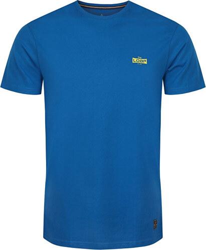 a514e59fb LOAP Pánske tričko s krátkym rukávom Balin Mykonos modrá CLM1765-M39M