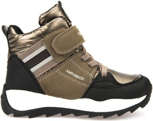 Geox dívčí zimní boty Orizont 37 zlatá - Glami.cz 689c8f5288