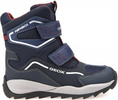 225d3ee1d9c Geox chlapecké zimní boty Orizont 38 modrá - Glami.cz