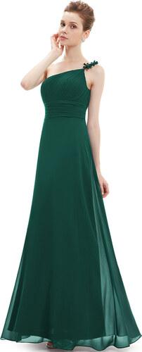e8bc357baf5 Plesové dlouhé šaty na jedno rameno Ever Pretty - Glami.cz