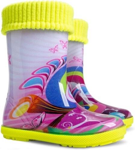 111b8ec4ab6 Dětské boty DEMAR Zateplené gumovky