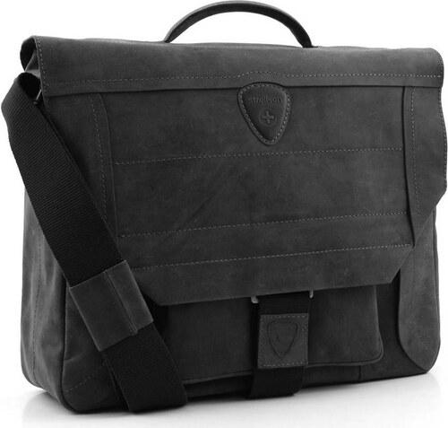Strellson Kožená pánska taška Strellson Hunter 4010000029 - Glami.sk 6d2e1785034