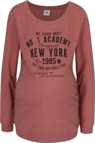 37d276048f53 Ružové tehotenské tričko s potlačou Mama.licious Sign - Glami.sk