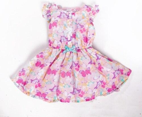 b8c950f4f3d Dívčí šaty Minoti s motýlky 6-12 měsíců 6-12 m (80) - Glami.cz