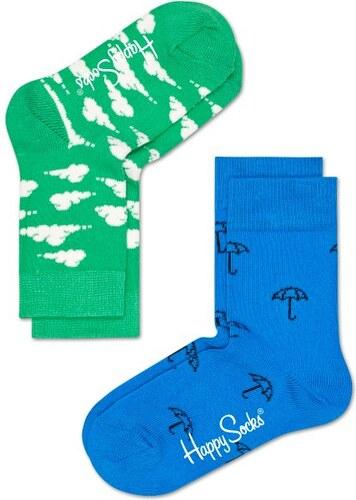 Dětské barevné ponožky Happy Socks f3ea9e81e9