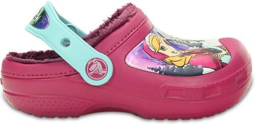 zamówienie online wielka wyprzedaż uk online tutaj Crocs CC Frozen Lined Clog - Berry C10/C11