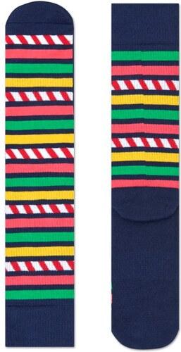 Barevné pruhované ponožky Happy Socks 35691cbc7d