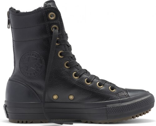 Černé Converse Chuck Taylor All Star Hi-Rise Boot - 3 b7144b81a23