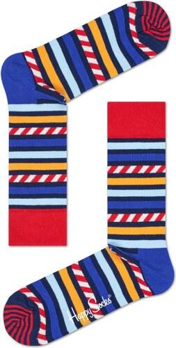 -30% Barevné pruhované ponožky Happy Socks 2df92f3634