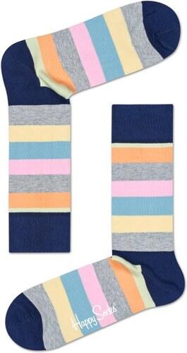 -12% Barevné pruhované ponožky Happy Socks 7429ee3afe