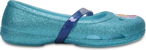 Crocs Crocs Lina Frozen Flat K - Ice Blue C7 - vel.23 2d52ea8a74