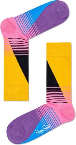 -30% Barevné (žluté) ponožky Happy Socks se vzorem Eighties - S-M (36-40 96c4176cf8