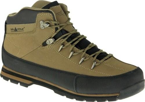 Vodotěsné hnědé trekingové boty Mc Arthur - Glami.cz e2e042fbe0