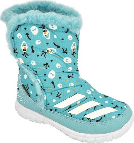 Zimní boty ADIDAS Disney Frozen Mid I Kids AQ2907 - Glami.cz d49955bd95