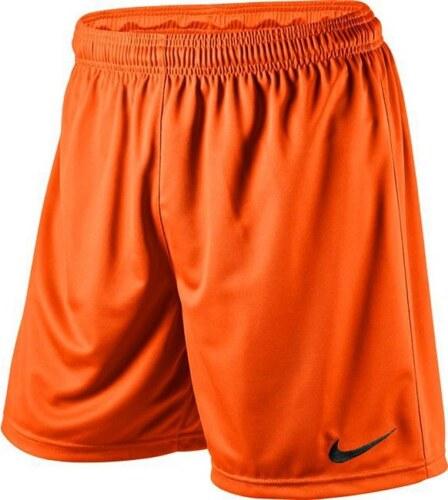 Oranžové kraťasy NIKE Park Knit Short Junior 448263-815 - Glami.cz 9662387cd2