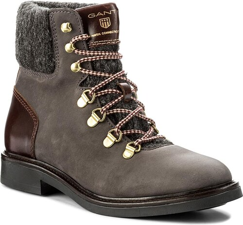 f86b8ff3e7 Členková obuv GANT - Ashley 15544122 Asphalt Gray G82 - Glami.sk