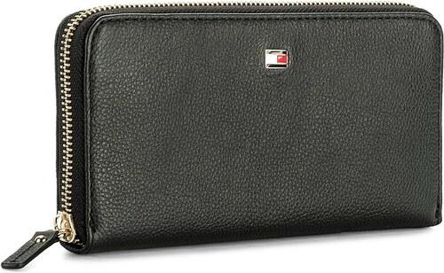 Nagy női pénztárca TOMMY HILFIGER - Basic Leather Large Za Wallet  AW0AW04283 002 81293acd5d