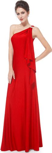 854c3ceb54c0 Ever-Pretty Červené večerní šaty antického střihu - Glami.cz