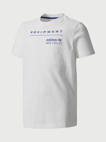 Tričko adidas Originals J EQT TEE - Glami.cz e45cb36d3ec