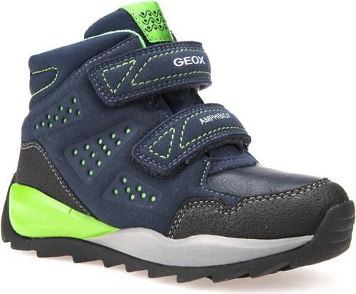Geox Chlapecké zateplené boty Orizont - tmavě modré - Glami.cz d7a5182d6c